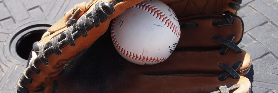 baseball-glove-on table