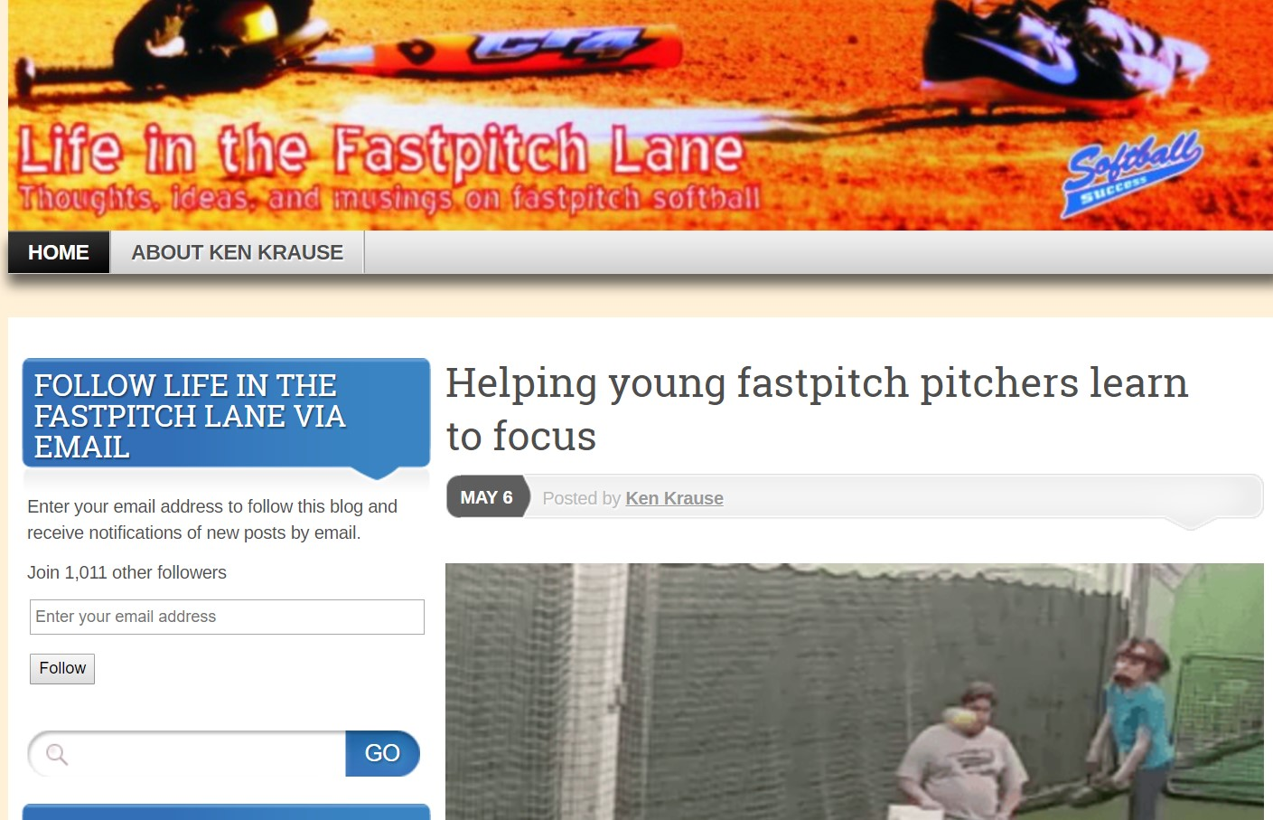 life in the fastpitch lane